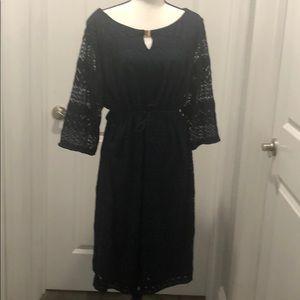 Plus size knit dressed